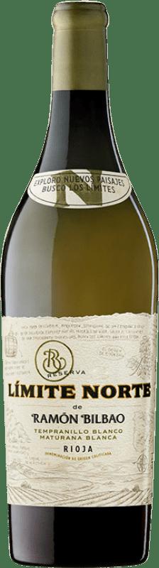19,95 € Free Shipping | White wine Ramón Bilbao Límite Norte D.O.Ca. Rioja The Rioja Spain Tempranillo White, Maturana White Bottle 75 cl
