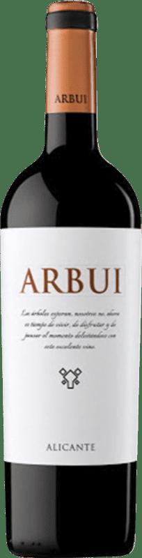 12,95 € Free Shipping   Red wine San Alejandro Arbui D.O. Alicante Valencian Community Spain Monastrell Bottle 75 cl