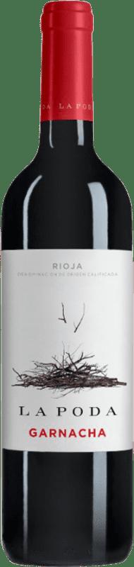 6,95 € Free Shipping | Red wine Palacio La Poda D.O.Ca. Rioja The Rioja Spain Grenache Bottle 70 cl