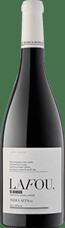 21,95 € Free Shipping | Red wine Lafou El Sender D.O. Terra Alta Spain Syrah, Grenache Tintorera Magnum Bottle 1,5 L