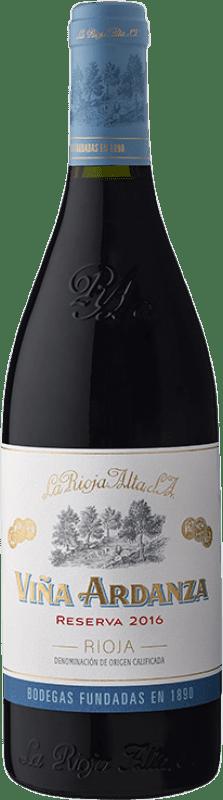 38,95 € Envío gratis   Vino tinto Rioja Alta Viña Ardanza Reserva D.O.Ca. Rioja La Rioja España Tempranillo, Garnacha Botella Mágnum 1,5 L