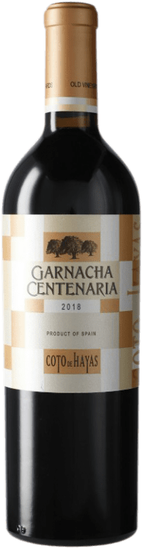 9,95 € 免费送货   红酒 Bodegas Aragonesas Coto de Hayas Centenaria Crianza D.O. Campo de Borja 阿拉贡 西班牙 Grenache 瓶子 75 cl