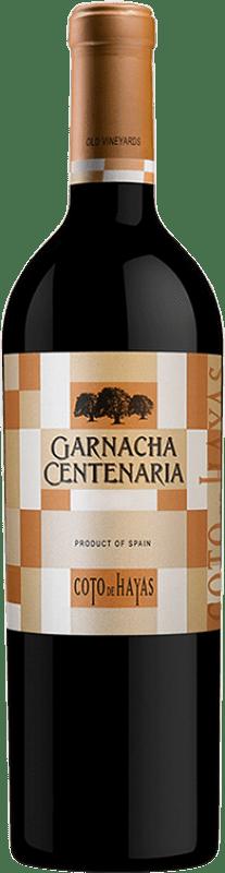9,95 € Envío gratis | Vino tinto Bodegas Aragonesas Coto de Hayas Centenaria Crianza D.O. Campo de Borja Aragón España Garnacha Botella 75 cl