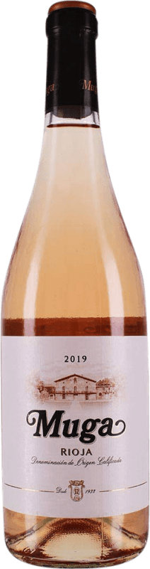 9,95 € Free Shipping | Rosé wine Muga Rosat Joven D.O.Ca. Rioja The Rioja Spain Tempranillo, Grenache, Macabeo Bottle 75 cl