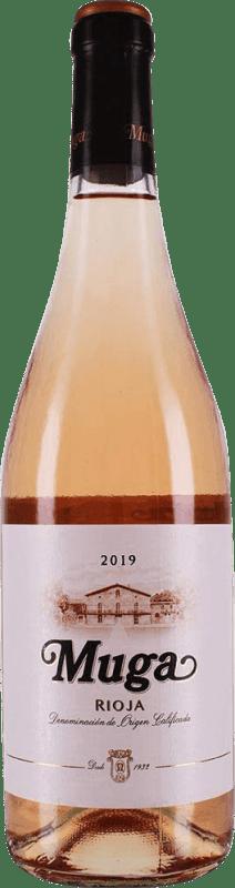 9,95 € Spedizione Gratuita | Vino rosato Muga Rosat Joven D.O.Ca. Rioja La Rioja Spagna Tempranillo, Grenache, Macabeo Bottiglia 75 cl