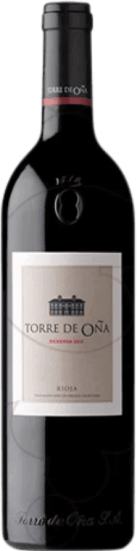 21,95 € | Red wine Torre de Oña Reserva D.O.Ca. Rioja The Rioja Spain Tempranillo, Mazuelo, Carignan Magnum Bottle 1,5 L