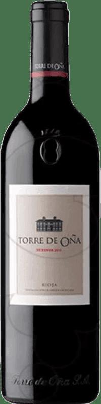 21,95 € Envío gratis | Vino tinto Torre de Oña Reserva D.O.Ca. Rioja La Rioja España Tempranillo, Mazuelo, Cariñena Botella Mágnum 1,5 L