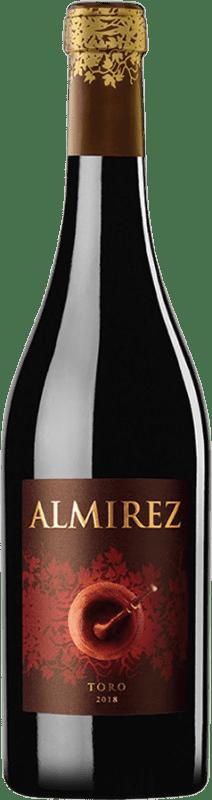 43,95 € Envoi gratuit | Vin rouge Teso La Monja Almirez Crianza D.O. Toro Castille et Leon Espagne Tempranillo Bouteille Magnum 1,5 L
