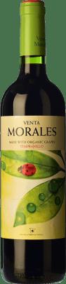Volver Venta Morales Orgánico Tempranillo La Mancha Joven 75 cl