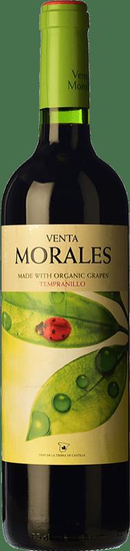 5,95 € Envío gratis | Vino tinto Volver Venta Morales Orgánico Joven D.O. La Mancha Castilla la Mancha y Madrid España Tempranillo Botella 75 cl