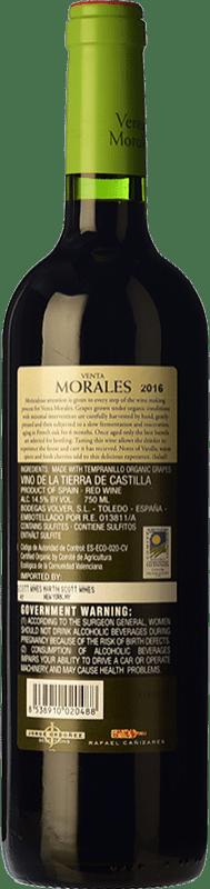 5,95 € Free Shipping   Red wine Volver Venta Morales Orgánico Joven D.O. La Mancha Castilla la Mancha y Madrid Spain Tempranillo Bottle 75 cl