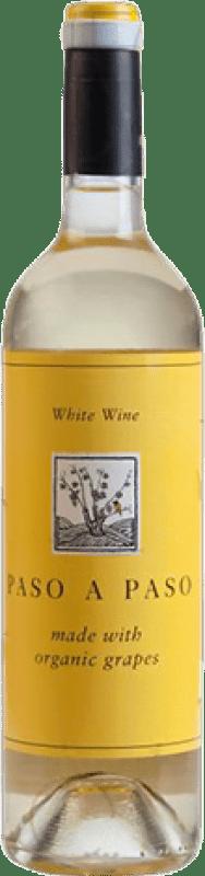 5,95 € Envoi gratuit | Vin blanc Volver Paso a Paso Crianza I.G.P. Vino de la Tierra de Castilla Castilla la Mancha y Madrid Espagne Macabeo, Verdejo Bouteille 75 cl