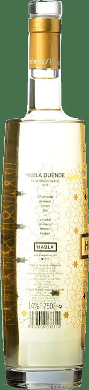 23,95 € Free Shipping   White wine Habla Duende Joven I.G.P. Vino de la Tierra de Extremadura Andalucía y Extremadura Spain Sauvignon White Bottle 75 cl