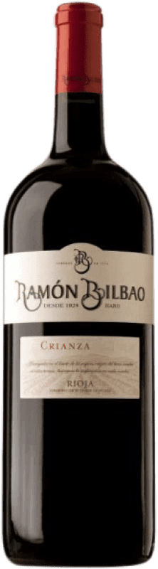 79,95 € | Red wine Ramón Bilbao Reserva D.O.Ca. Rioja The Rioja Spain Tempranillo, Graciano, Mazuelo, Carignan Special Bottle 5 L