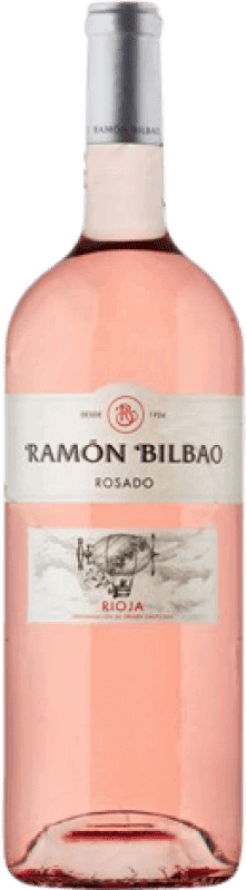 13,95 € Envoi gratuit | Vin rose Ramón Bilbao Joven D.O.Ca. Rioja La Rioja Espagne Grenache Bouteille Magnum 1,5 L