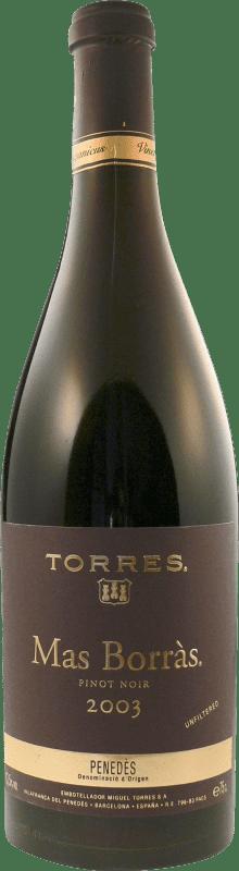 31,95 € | Red wine Torres Mas Borras D.O. Penedès Catalonia Spain Pinot Black Bottle 75 cl