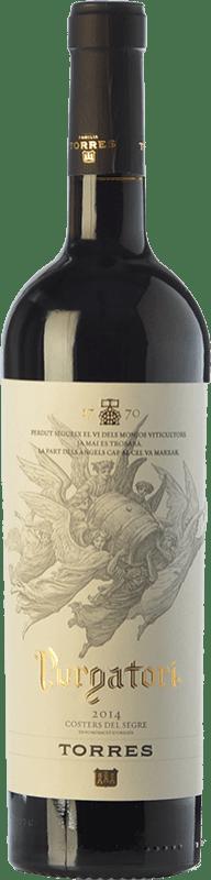 27,95 € | Red wine Torres Purgatori Crianza D.O. Costers del Segre Catalonia Spain Syrah, Grenache, Mazuelo, Carignan Bottle 75 cl