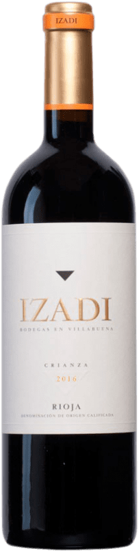 9,95 € Free Shipping | Red wine Izadi Crianza D.O.Ca. Rioja The Rioja Spain Tempranillo Bottle 75 cl