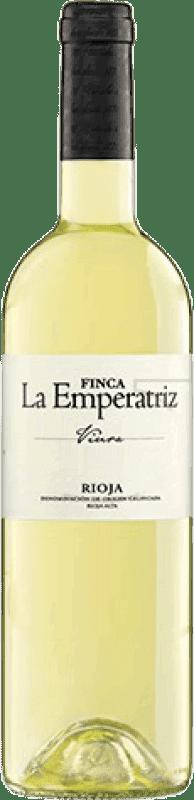 7,95 € Envío gratis | Vino blanco Hernáiz Finca La Emperatriz Joven D.O.Ca. Rioja La Rioja España Viura Botella 75 cl