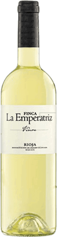 7,95 € Free Shipping | White wine Hernáiz Finca La Emperatriz Joven D.O.Ca. Rioja The Rioja Spain Viura Bottle 75 cl