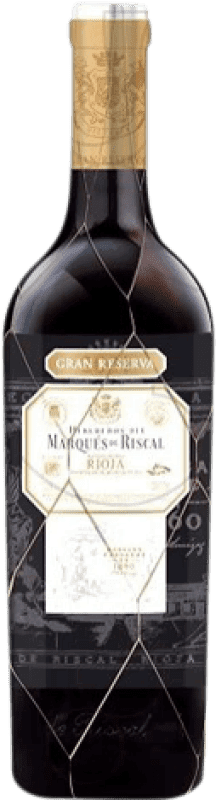 36,95 € | Red wine Marqués de Riscal Gran Reserva D.O.Ca. Rioja The Rioja Spain Tempranillo, Graciano, Mazuelo, Carignan Bottle 75 cl