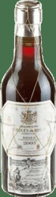 5,95 € Envoi gratuit   Vin rouge Marqués de Riscal Reserva D.O.Ca. Rioja La Rioja Espagne Tempranillo, Graciano, Mazuelo, Carignan Petite Bouteille 18 cl