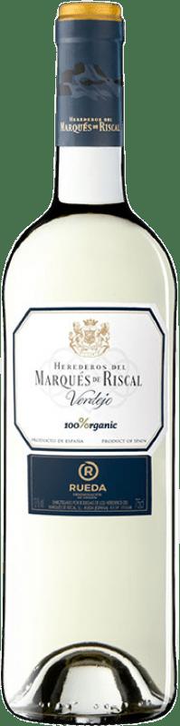 9,95 € | White wine Marqués de Riscal Organic Joven D.O. Rueda Castilla y León Spain Verdejo Bottle 75 cl