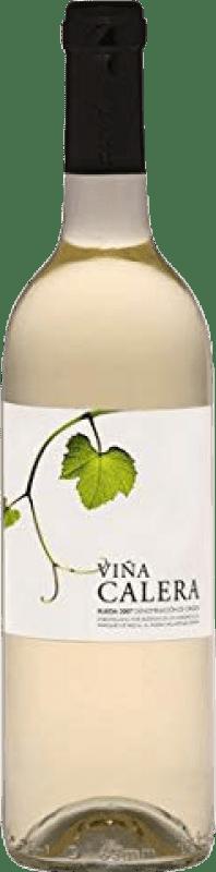 5,95 € Free Shipping | White wine Marqués de Riscal Viña Calera Joven D.O. Rueda Castilla y León Spain Macabeo, Verdejo, Sauvignon White Bottle 75 cl