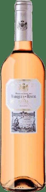 13,95 € | Rosé wine Marqués de Riscal Joven D.O.Ca. Rioja The Rioja Spain Tempranillo Magnum Bottle 1,5 L