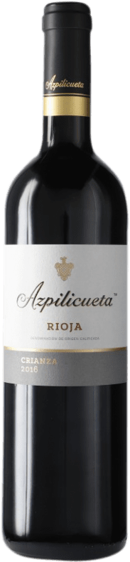 8,95 € | Red wine Campo Viejo Azpilicueta Crianza D.O.Ca. Rioja The Rioja Spain Tempranillo, Graciano, Mazuelo, Carignan Bottle 75 cl