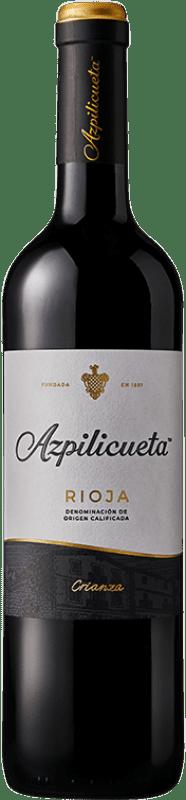 8,95 € Envío gratis | Vino tinto Campo Viejo Azpilicueta Crianza D.O.Ca. Rioja La Rioja España Tempranillo, Graciano, Mazuelo, Cariñena Botella 75 cl