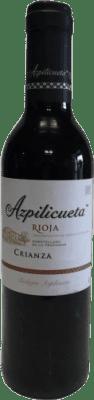 5,95 € Envío gratis | Vino tinto Campo Viejo Azpilicueta Crianza D.O.Ca. Rioja La Rioja España Tempranillo, Graciano, Mazuelo, Cariñena Media Botella 37 cl