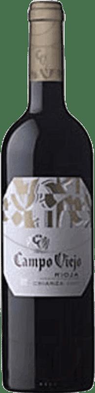 7,95 € | Red wine Campo Viejo CV Crianza D.O.Ca. Rioja The Rioja Spain Tempranillo, Grenache, Graciano Bottle 75 cl