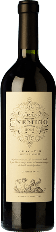 131,95 € | Red wine Aleanna Gran Enemigo Chacayes Argentina Cabernet Franc, Malbec Bottle 75 cl