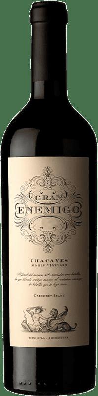 131,95 € Envío gratis | Vino tinto Aleanna Gran Enemigo Chacayes Argentina Cabernet Franc, Malbec Botella 75 cl
