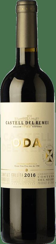 11,95 € Envío gratis | Vino tinto Castell del Remei Oda Crianza D.O. Costers del Segre Cataluña España Tempranillo, Merlot, Cabernet Sauvignon Botella 75 cl