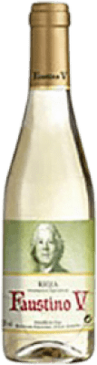 3,95 € | White wine Faustino V Joven D.O.Ca. Rioja The Rioja Spain Macabeo Half Bottle 37 cl