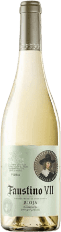 4,95 € | White wine Faustino VII Joven D.O.Ca. Rioja The Rioja Spain Macabeo Bottle 75 cl