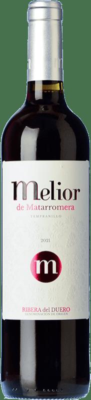 7,95 € 免费送货 | 红酒 Matarromera Melior D.O. Ribera del Duero 卡斯蒂利亚莱昂 西班牙 瓶子 75 cl