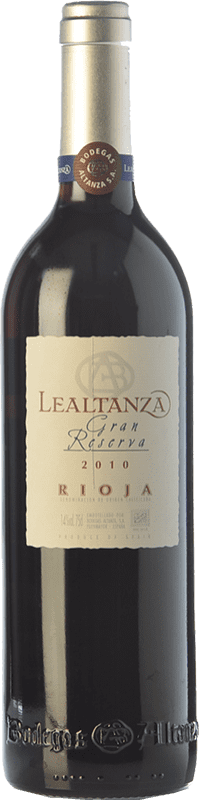 17,95 € | Red wine Altanza Lealtanza Gran Reserva D.O.Ca. Rioja The Rioja Spain Tempranillo Bottle 75 cl