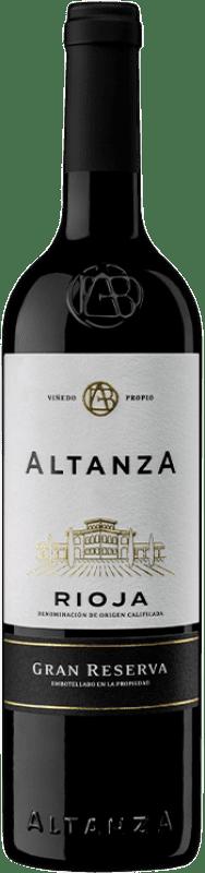 16,95 € Envío gratis | Vino tinto Altanza Lealtanza Gran Reserva D.O.Ca. Rioja La Rioja España Tempranillo Botella 75 cl