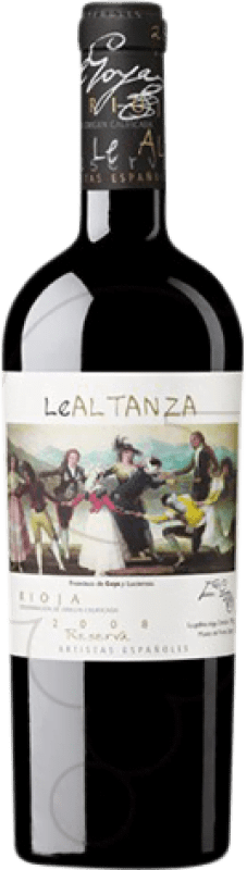34,95 € | Red wine Altanza Lealtanza Artistas Españoles Goya Reserva D.O.Ca. Rioja The Rioja Spain Tempranillo Bottle 75 cl