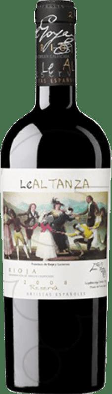 34,95 € Envío gratis | Vino tinto Altanza Lealtanza Artistas Españoles Goya Reserva D.O.Ca. Rioja La Rioja España Tempranillo Botella 75 cl
