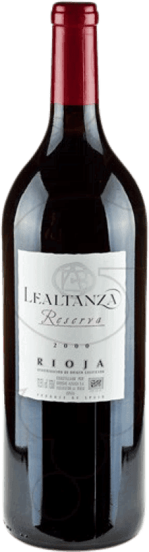 24,95 € | Red wine Altanza Lealtanza Reserva D.O.Ca. Rioja The Rioja Spain Tempranillo Magnum Bottle 1,5 L