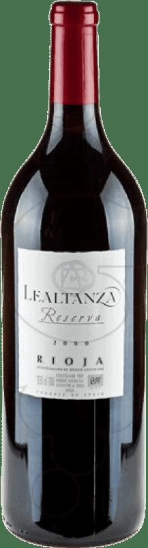 23,95 € Envío gratis | Vino tinto Altanza Lealtanza Reserva D.O.Ca. Rioja La Rioja España Tempranillo Botella Mágnum 1,5 L