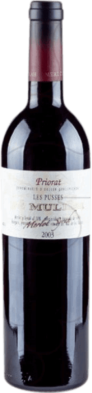 16,95 € Free Shipping | Red wine De Muller Les Pusses Reserva D.O.Ca. Priorat Catalonia Spain Bottle 75 cl