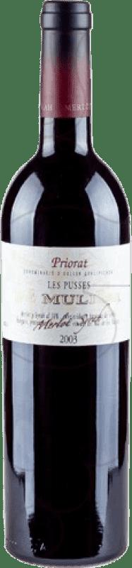 17,95 € Envío gratis | Vino tinto De Muller Les Pusses Reserva D.O.Ca. Priorat Cataluña España Botella 75 cl