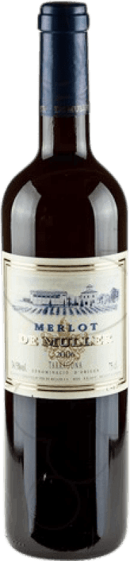 8,95 € 免费送货   红酒 De Muller Negre Crianza D.O. Tarragona 加泰罗尼亚 西班牙 Merlot 瓶子 75 cl