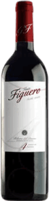 5,95 € | Red wine Figuero 4 Meses Roble D.O. Ribera del Duero Castilla y León Spain Tempranillo Half Bottle 37 cl