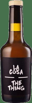 9,95 € Free Shipping | Fortified wine Maestro Tejero La Cosa-The Thing I.G.P. Vino de la Tierra de Castilla y León Castilla y León Spain Muscat Half Bottle 37 cl